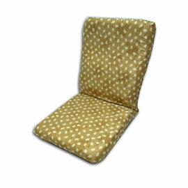 【台客嚴選】日系招財兔高背舒適和室椅(金色)