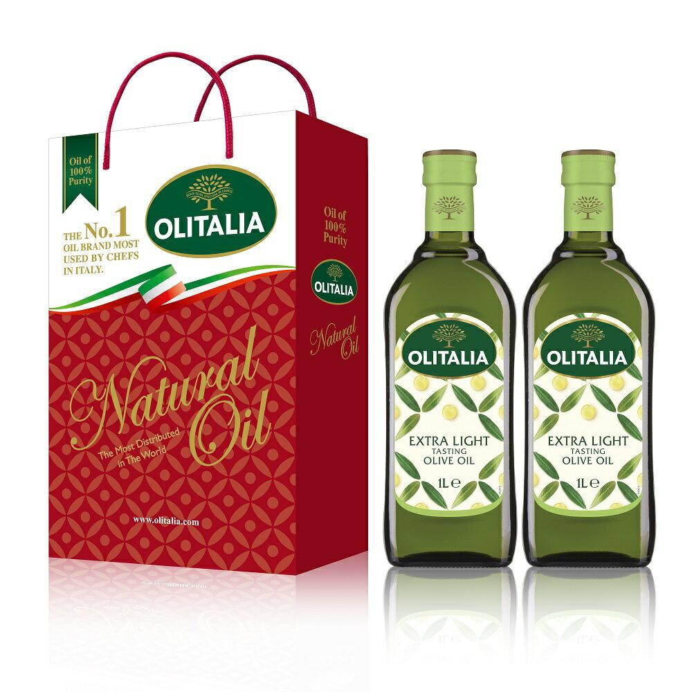 Olitalia 奧利塔精製橄欖油禮盒組(1000mlx2瓶)