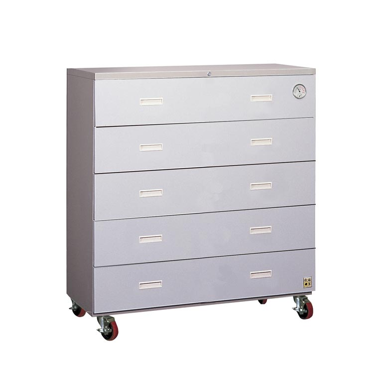 【免運】收藏家 MD-5500 雙倍容量可移動 抽屜式防潮收納櫃《500公升》