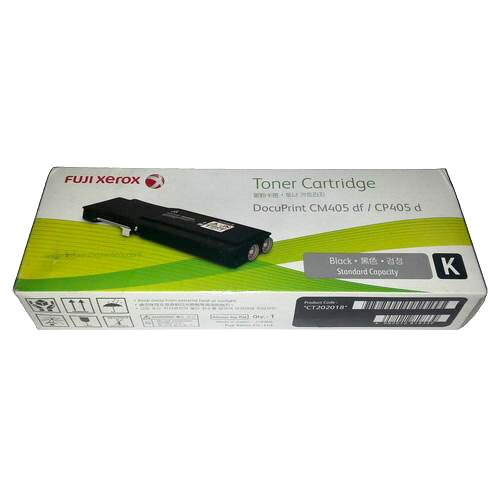 【粉有禮貼紙】富士全錄 原廠標準容量黑色碳粉匣 CT202018 適用 DocuPrint CP405 d/CM405