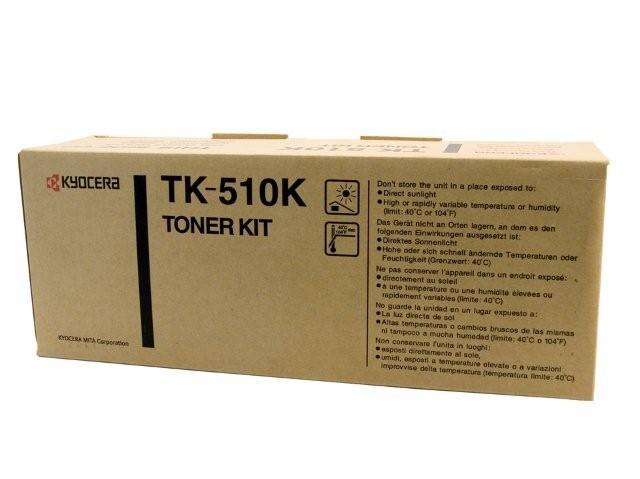 【免運】Kyocera 黑色原廠碳粉匣 TK-510K 適用 FS-C5020N / FS-C5030N