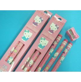 Hello Kitty凱蒂貓2B學齡前兒童專用大三角鉛筆正版授權/一盒{60}