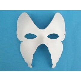 DIY彩繪面具.空白面具(蝴蝶型)/一個{40}