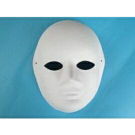 DIY彩繪面具 空白面具 臉譜 歌劇魅影 DIY面具(全臉面具.附鬆緊帶)/一個入{定40}