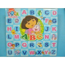 朵拉英文拼圖.幼兒卡通拼圖DA-009(大方形100片拼圖/加厚)MIT製/一組入{促120}