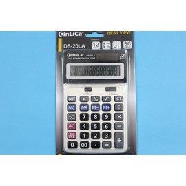 信力 CinLica 計算機 DS-20LA計算機12位數(中長型)/一台入{促250}~促銷商品