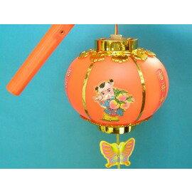 圓燈籠 富貴手提燈光小燈籠(傳統圓燈)/一個入{促60}