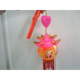 宮燈籠 富貴手提聲光小燈籠 傳統六角小宮燈/一個入{促60}