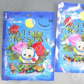 水晶寶寶 海洋寶寶 可當培養土 魔晶土 水晶泥 約10g(大顆混色)/一袋10包入{定20}
