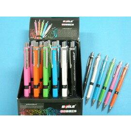 BAILE自動鉛筆BL519A自動鉛筆0.5mm(彩色.三角握桿)/一支入{促15}