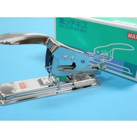 MAX訂書機 HD-3釘書機 3號機/一台{850}