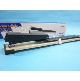 Kw-trio可得優3號可調式訂書機5900長臂加長型釘書機(深31.7cm)MIT製/一台入{定470}
