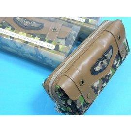 筆袋 金信拉鍊筆袋83062文具收納袋 文具袋 收納袋 包袋(軍事迷彩)/一個入{促99}