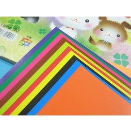單面蠟光色紙.教學色紙5001折紙摺紙色紙17.5cm x 17.5cm(大張)/{定50}一袋/ 10包入(一包60張入)