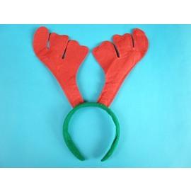 聖誕飾品髮箍.聖誕鹿角髮夾.可愛麋鹿角.聖誕頭圈(標準型)/一個入{促30}