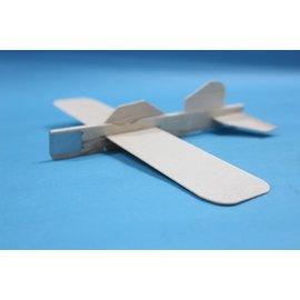 木板飛機 木板彈射飛機 DIY木板模型飛機 彩繪飛機 空白飛機(小支)/一個入{促30}~5065