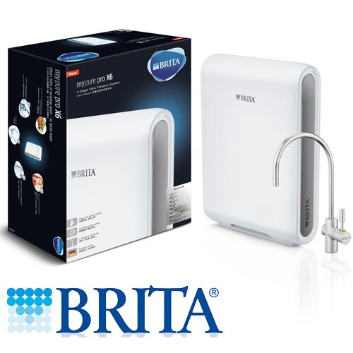 BRITA X6超濾四階段硬水軟化型過濾系統【愛買】