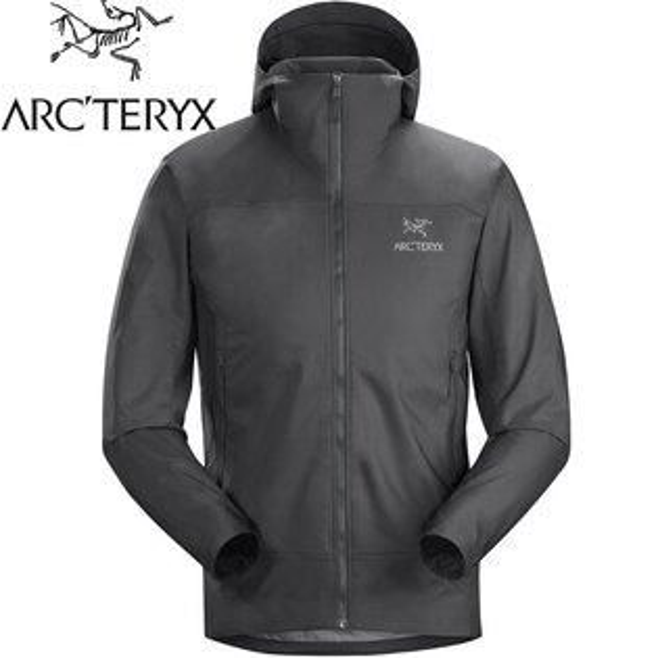 Arcteryx始祖鳥軟殼外套軟殼衣登山外套防風外套TenquilleHoody男款18760機長灰