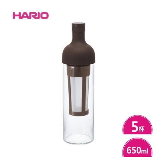 【HARIO】酒瓶冷泡咖啡壺-咖啡色-650ml (FIC-70-CBR)