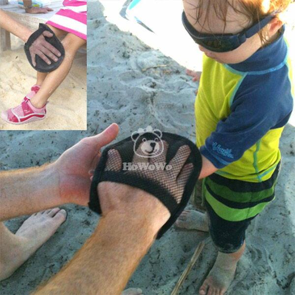 兒童沙灘清沙手套 清理寶寶玩沙時粘在皮膚上的沙子SS9064 好娃娃
