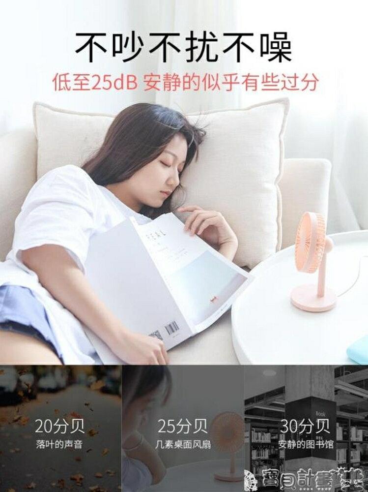 USB小風扇 USB小風扇迷你靜音辦公室桌面風扇學生宿舍寢室床上電扇小型台式 寶貝計畫
