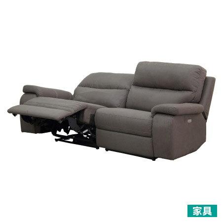 陽岱剛推薦全皮3人用頂級電動可躺沙發