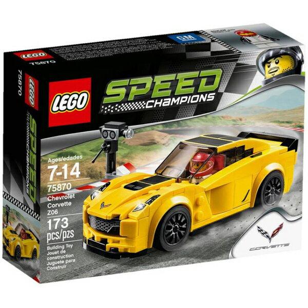 【LEGO 樂高積木】SPEED 賽車系列 - Chevrolet Corvette Z06 LT-75870