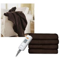 Sunbeam LoftTec Heated Throw, Walnut TRL8WS-R470-25A44