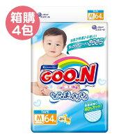 GOO.N 日本大王 頂級境內版紙尿褲M (64片x4包)【產地日本】【悅兒園婦幼生活館】 0