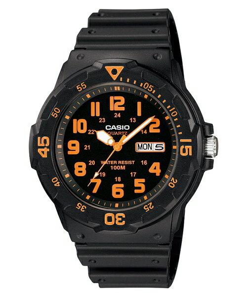 CASIO 指針式運動腕錶/防水100米/MRW-200H-4B