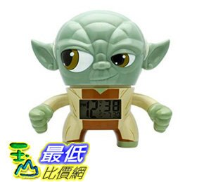 [106 美國直購] BulbBotz 2020022 人偶鬧鐘 星際大戰 Star Wars Light Up Alarm Clocks (7.5 Inches Tall)