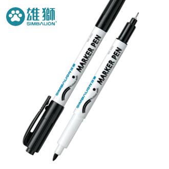 雄獅 NO.680 雙頭奇異筆 ( 0.5mm + 1.0mm )