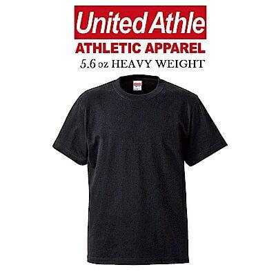日本UnitedAthle5.6oz重磅短T亞規情侶素色UA冠軍