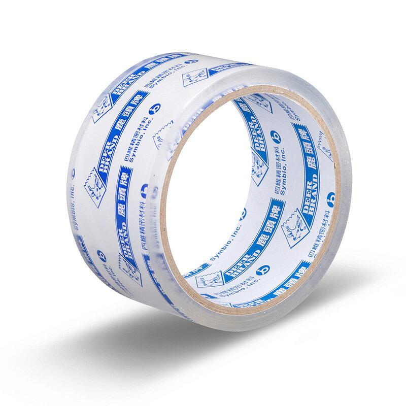 四維 鹿頭牌 OPP膠帶 透明 封箱 膠帶 2吋 (48mm X 40Y) 144個入 /箱 PPS7