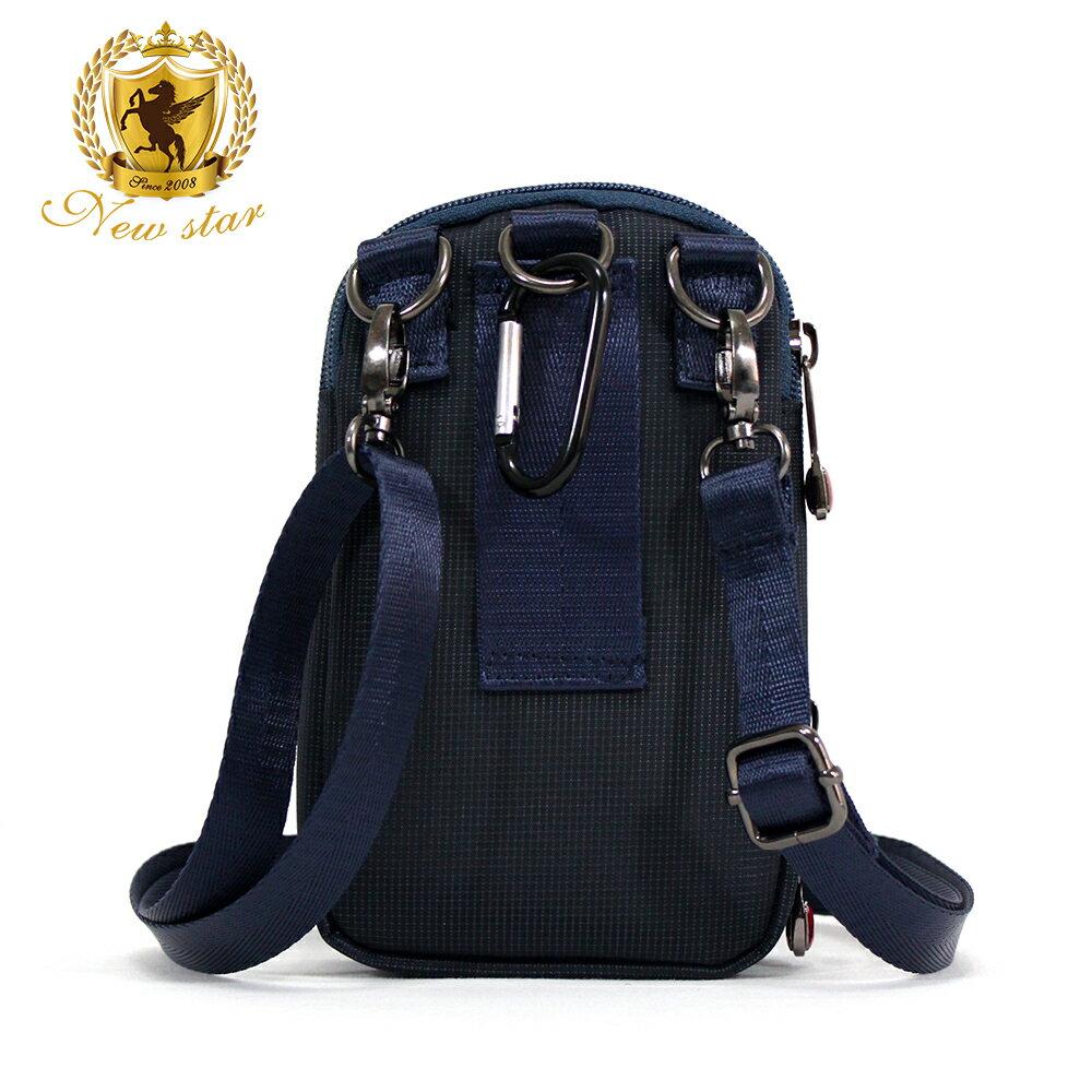腰包 輕便素面迷彩雙層掛包側背包手機包包 NEW STAR BW33 3