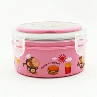 【珍昕】 跳跳猴不鏽鋼隔熱餐盒(15cm)