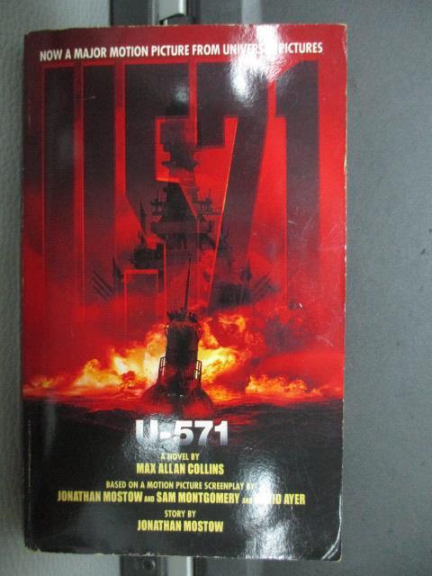 【書寶二手書T9/原文小說_NEE】U.571_Universal studios