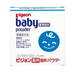 日本【貝親Pigeon】粉餅型爽身粉