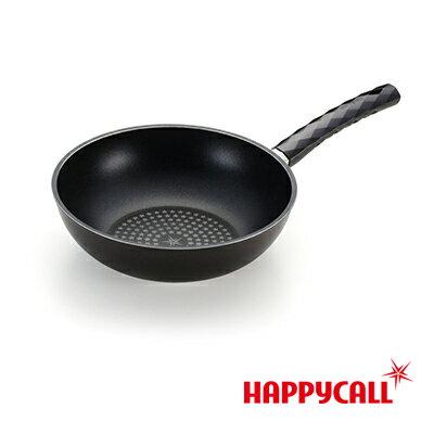 【韓國HAPPYCALL】鑽石不沾深炒鍋(26cm)