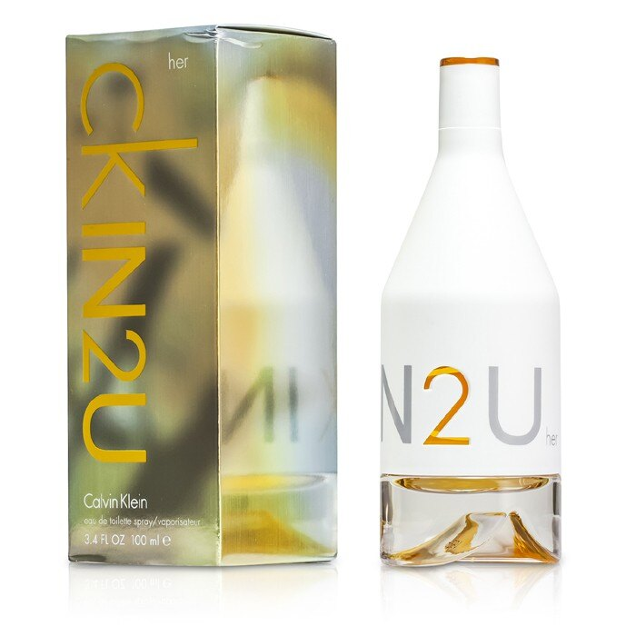 Calvin Klein 卡文克萊 CK IN2U for Her 女性淡香水 100ml/3.4oz