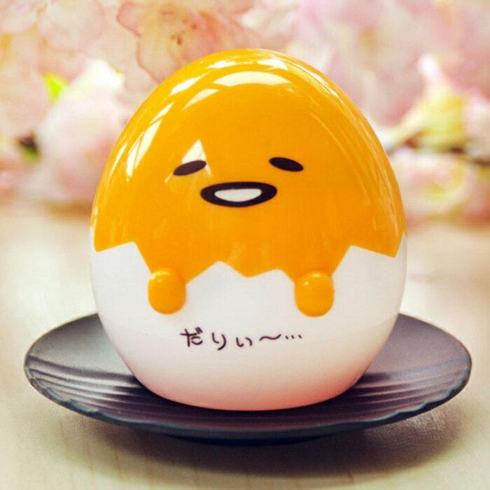糖衣子輕鬆購【DS156】日本蛋黃哥公仔療癒雞蛋殼造型溫泉蛋擺設小夜燈桌燈工作小燈床頭燈泡