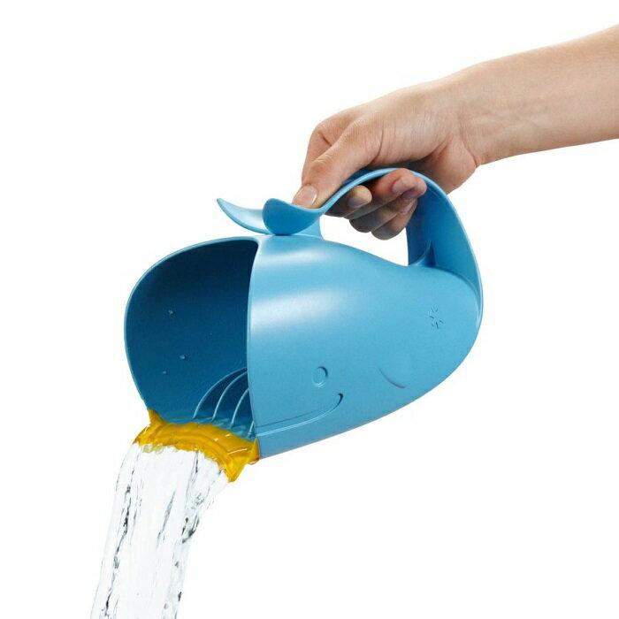 美國【Skip Hop】Moby 鯨魚瀑布淋浴沖洗器
