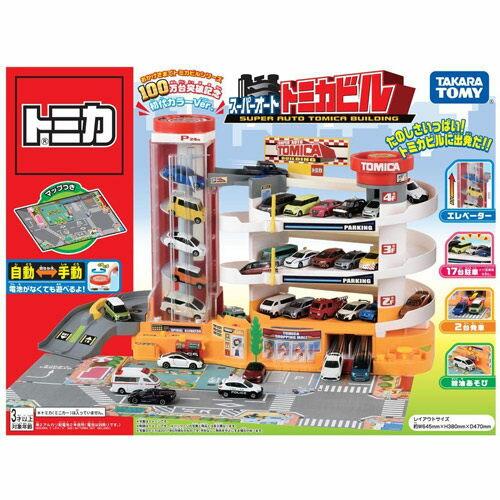 【 TAKARA TOMY 】自動停車塔 百萬銷售紀念版