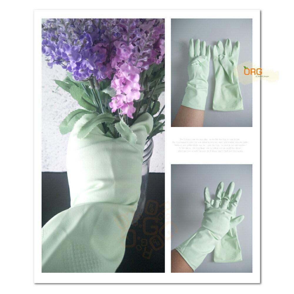 ORG《SD1347d》三花 蘆薈絨裡手套 蘆薈護手手套 工作手套 清潔手套 洗碗 家事 手套 大掃除 清潔工具 廚房 6