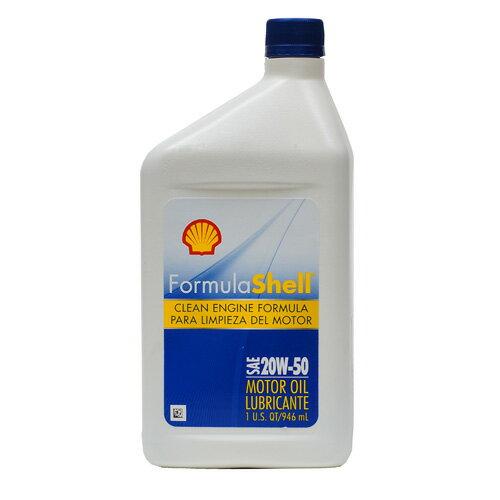 Shell Formula合成機油20w50 SN【愛買】