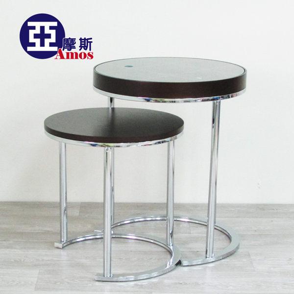 (特賣) 玩意抽屜多格收納二套桌 MDF強化玻璃 精巧收納茶几邊桌兩套組合 台灣製造免運 Amos【DBI001】