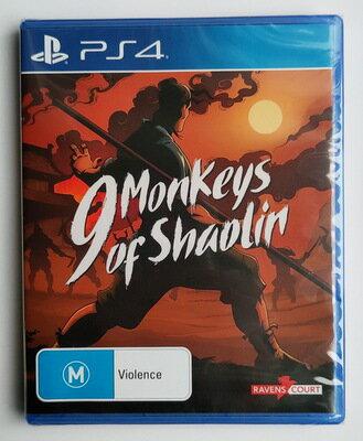 美琪PS4 少林九武猴 9 Monkeys of Shaolin 中文英文 武俠動作遊戲