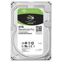 Seagate BarraCuda Pro 6 TB Internal HDD 256MB Cache Sata 7200RPM 6Gb/s 3.5