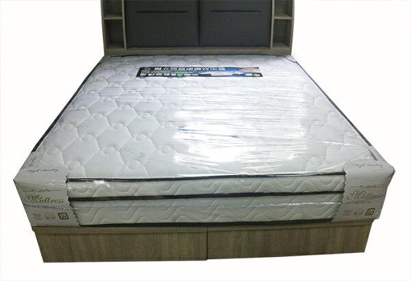 【尚品傢俱】939-04凱倫雙人5尺獨立筒床墊~~另有3.5尺、6尺、6x7尺床墊~~