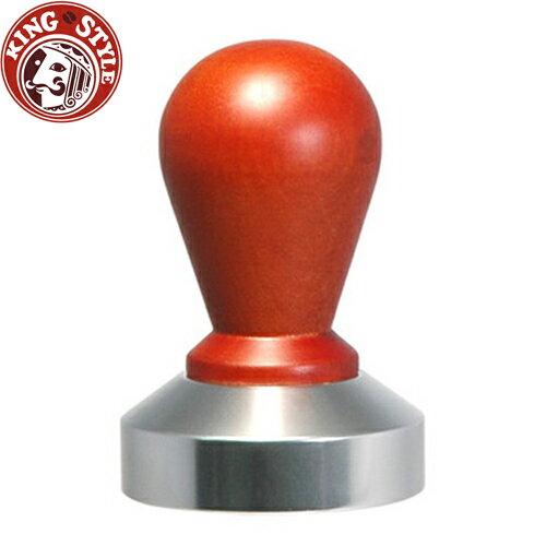 金時代書香咖啡【Tiamo】0914 木柄鋁底填壓器 58mm